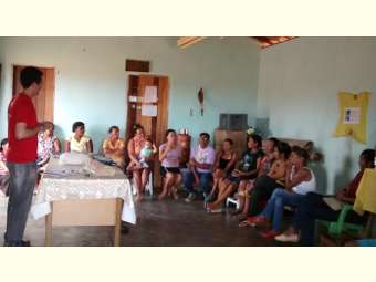 Projeto de Ater discute associativismo com famílias de Canudos